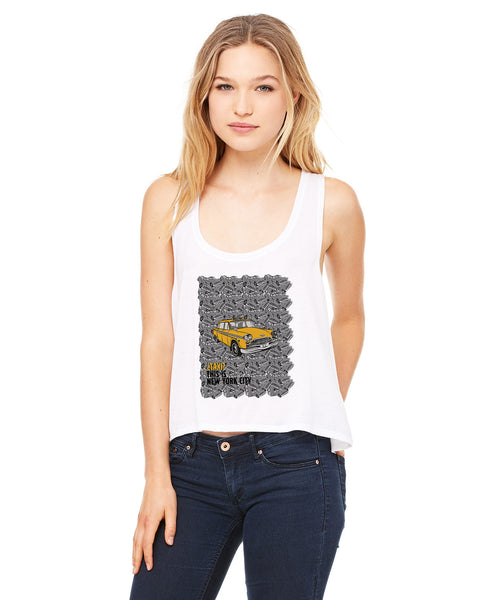 Super Taxi Wey in NY LADIES' BOXY TANK