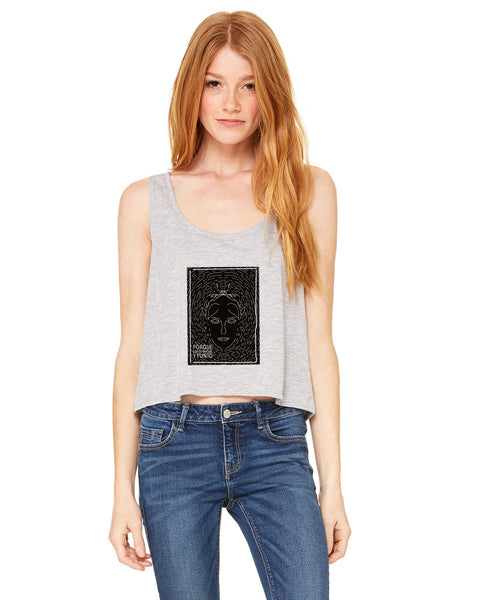 Because why LADIES' BOXY TANK
