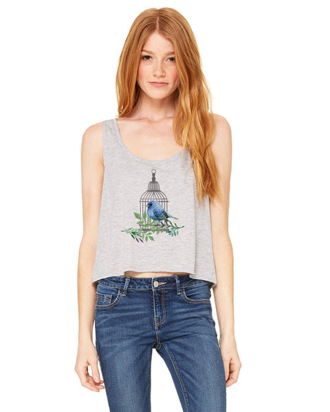 Bird Cage LADIES' BOXY TANK