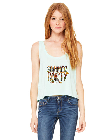 Summer Party LADIES' BOXY TANK