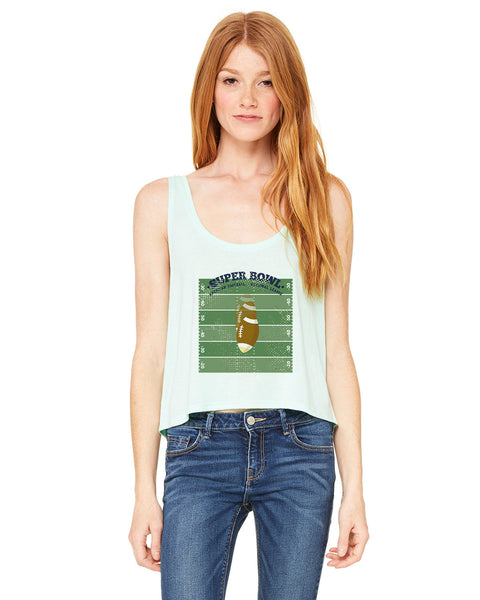Super Bowl GO LADIES' BOXY TANK