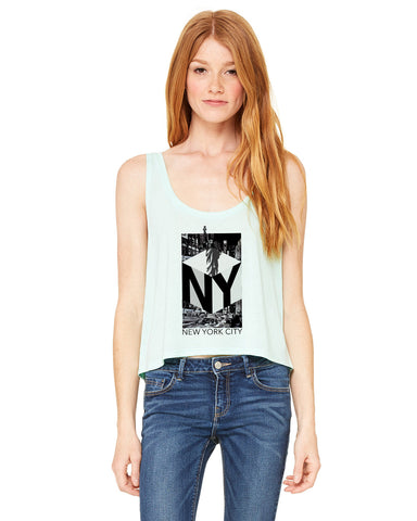 New York NOW LADIES' BOXY TANK