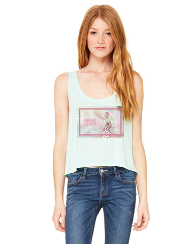 Hello LV LADIES' BOXY TANK