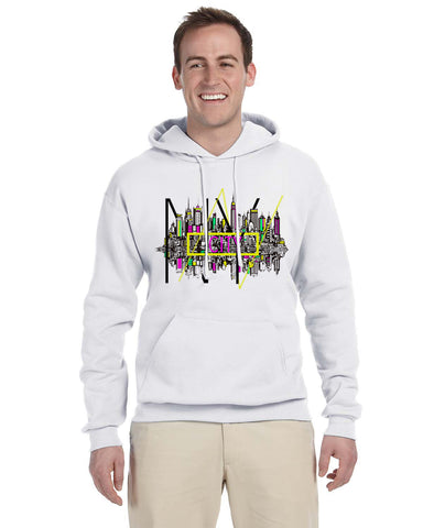 Complicated Time MEN'S PULLOVER HOOD
