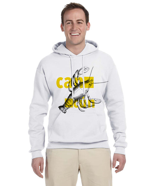 Lobster in Cancun MEN'S PULLOVER HOOD