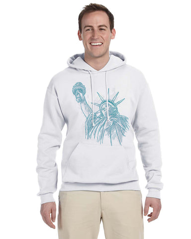 New York to be free MEN'S PULLOVER HOOD