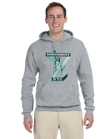Town of Liberty MEN'S PULLOVER HOOD