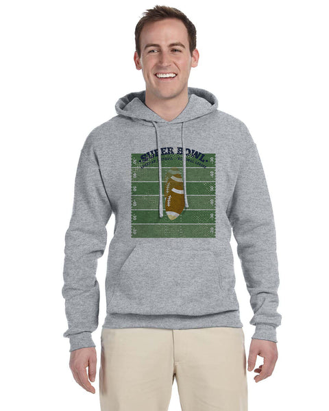 Super Bowl GO MEN'S PULLOVER HOOD