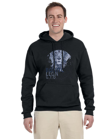 Beautiful leo MEN'S PULLOVER HOOD