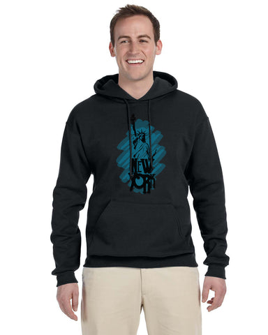 Visiting The Liberty MEN'S PULLOVER HOOD