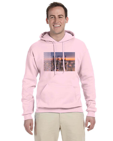 New York Twilight MEN'S PULLOVER HOOD