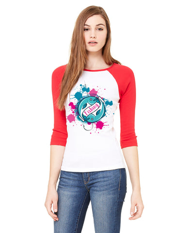 Fishing LADIES' 3/4 SLEEVED RAGLAN