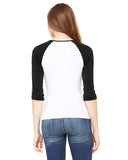 Hidden Rabbit LADIES' 3/4 SLEEVED RAGLAN