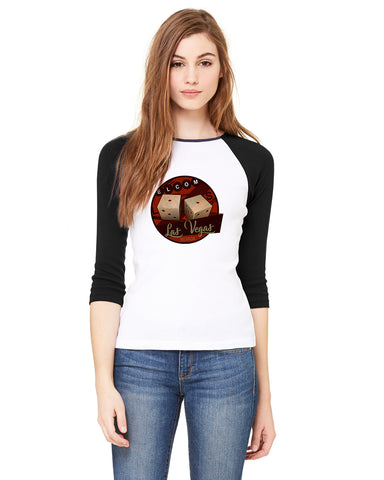 The Other LV's Symbol LADIES' 3/4 SLEEVED RAGLAN