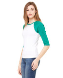 Bird Cage LADIES' 3/4 SLEEVED RAGLAN