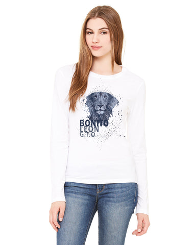 Beautiful leo LADIES' LONG-SLEEVED