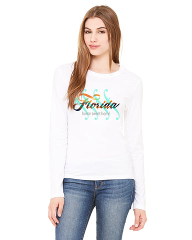 Florida Sweet Home LADIES' LONG-SLEEVED