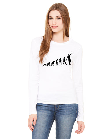 Human revolution LADIES' LONG-SLEEVED