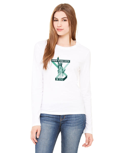 Town of Liberty LADIES' LONG-SLEEVED