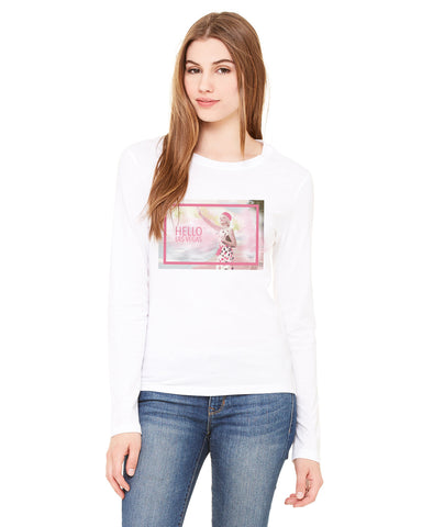 Hello LV LADIES' LONG-SLEEVED