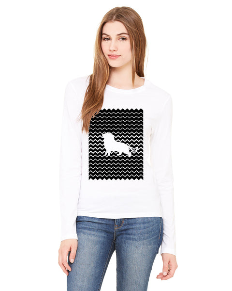 Magnificent Lion LADIES' LONG-SLEEVED