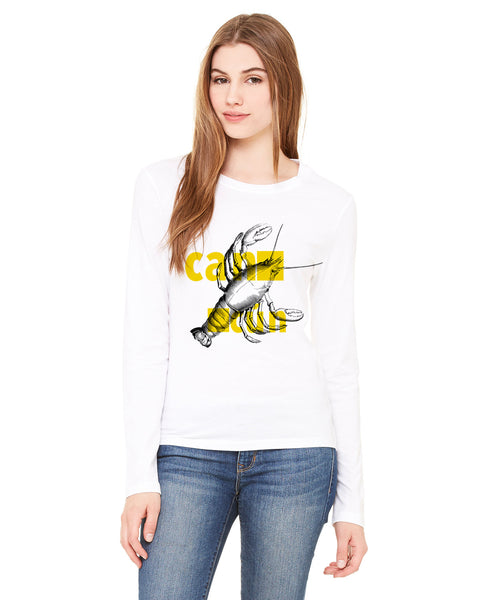 Lobster in Cancun LADIES' LONG-SLEEVED