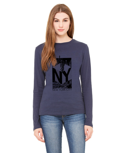 New York NOW LADIES' LONG-SLEEVED