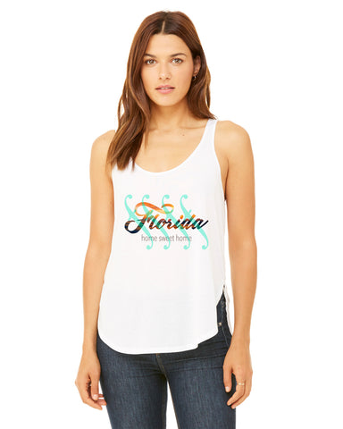 Florida Sweet Home LADIES' SIDE SLIT TANK
