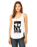 New York NOW LADIES' SIDE SLIT TANK