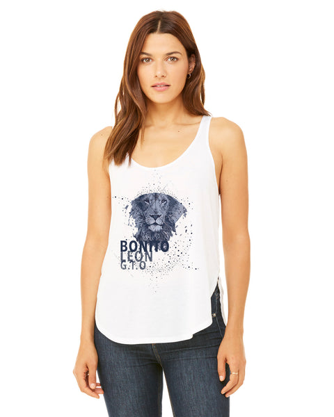 Beautiful leo LADIES' SIDE SLIT TANK