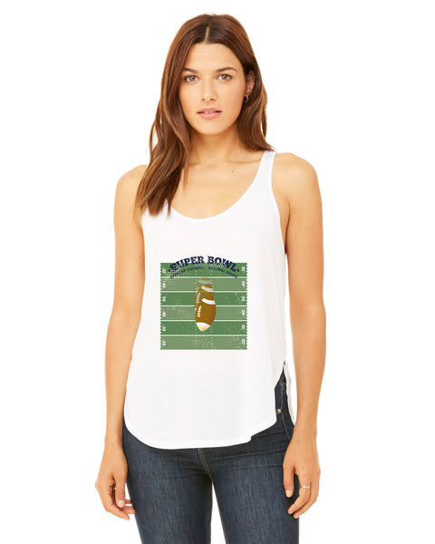 Super Bowl GO LADIES' SIDE SLIT TANK