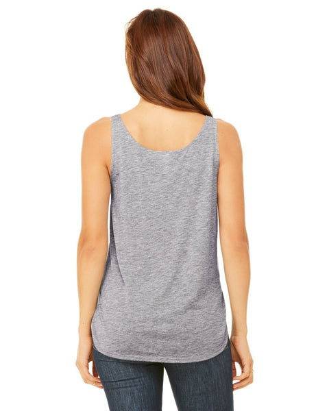 New York Twilight LADIES' SIDE SLIT TANK