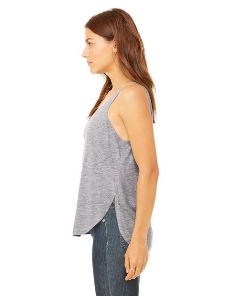 Acapulco Coconut Tree LADIES' SIDE SLIT TANK