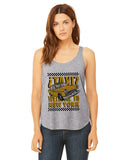 Viva Hey Taxi LADIES' SIDE SLIT TANK