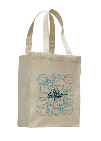 Just love basquet SHOPPING TOTE BAG