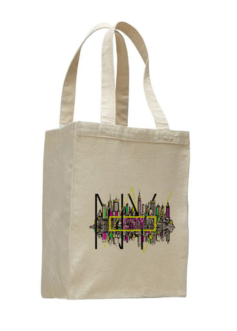 Complicated Time SHOPPING TOTE BAG
