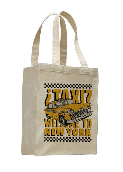 Viva Hey Taxi SHOPPING TOTE BAG