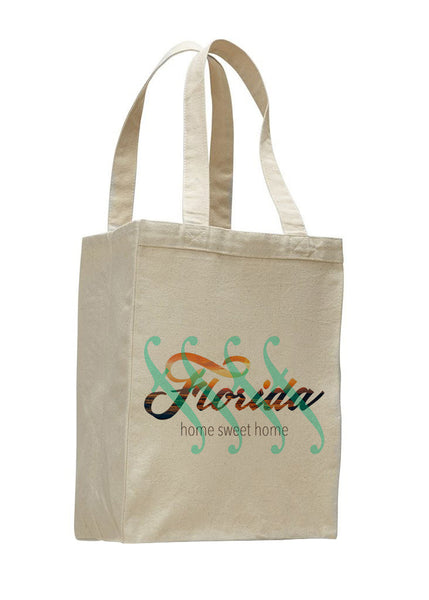 Florida Sweet Home SHOPPING TOTE BAG