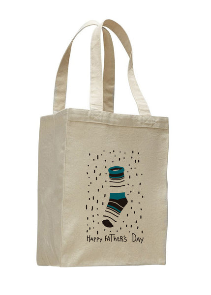 Socks Dad SHOPPING TOTE BAG