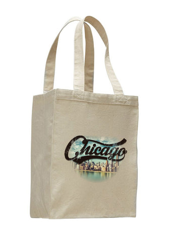 Chicago Skyline SHOPPING TOTE BAG