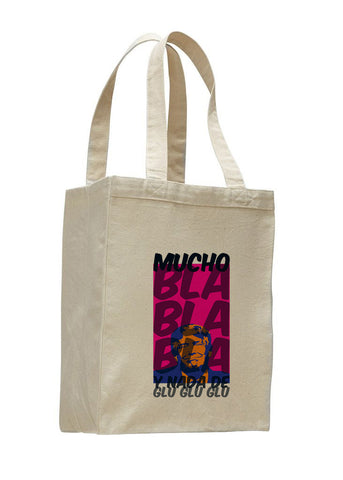 Donald Trump bla bla bla SHOPPING TOTE BAG