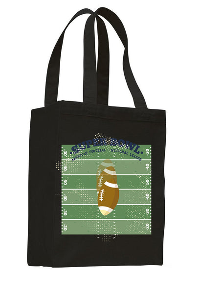 Super Bowl GO SHOPPING TOTE BAG