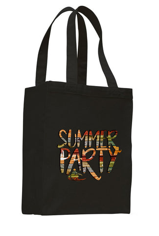 Summer Party SHOPPING TOTE BAG