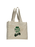 To be a father TOTE BAG WITH COLORED TRIM
