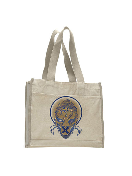 Buda TOTE BAG WITH COLORED TRIM