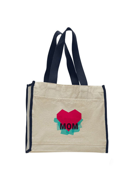 Atom Heart Mother TOTE BAG WITH COLORED TRIM