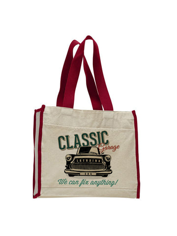 Classic 365 TOTE BAG WITH COLORED TRIM
