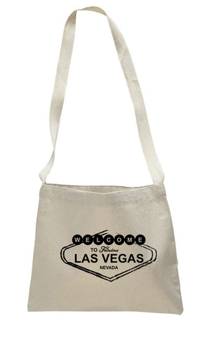 Las Vegas Symbol SMALL MESSENGER BAG