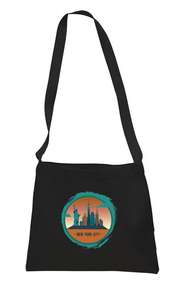 Views in New York SMALL MESSENGER BAG