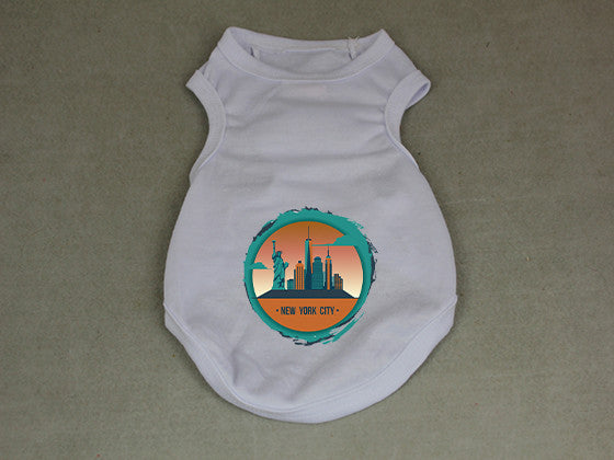 Views in New York DOGS' TANK TOP